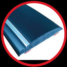 Self-adhesive mouldings