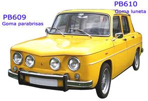 renault 8 amarillo